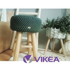 Taburetka Scandinavian tmavá olivová